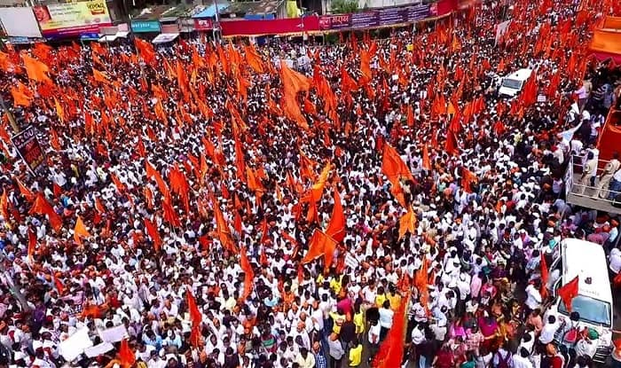 Maratha Reservation: Over 20 Lakh people hold silent agitation in Pune; rallies also held in Vidharbha (Video)