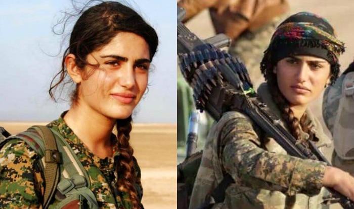 Face of Rojava revolution, Asia Ramazan Antar, known as  'Kurdish Angelina Jolie' killed in gunfight with ISIS