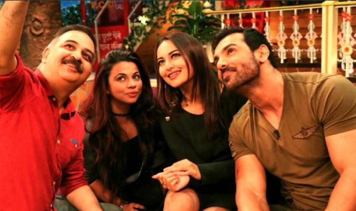 The Kapil Sharma Show: Sonakshi Sinha & John Abraham promote Force 2 with Kapil Sharma's team