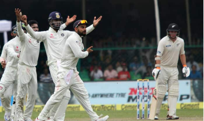 India vs New Zealand 1st Test: Here is why Tom Latham was given not out despite KL Rahul's catch, watch video
