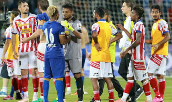 ISL 2016 Mumbai City FC vs Atletico de Kolkata Highlights & Match Result: Both the teams bagged one point each as game ended in a 1-1 tie