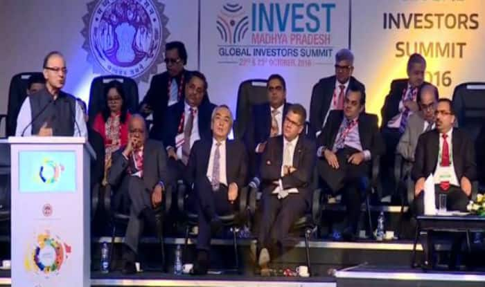 Global Investors' Summit 2016: Arun Jaitley says, 'Madhya Pradesh is fortunate to have a leadership with clarity'