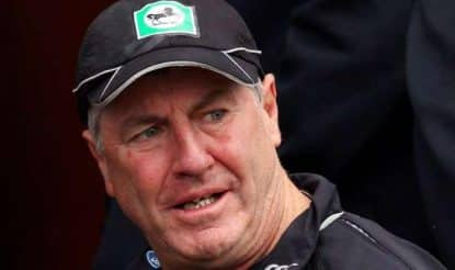 Coach-John-Wright-of-New-Zealand-looks-on-during-day-one-of-the-Third-Test-match-betweNEW