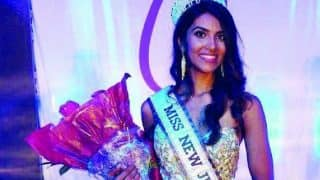 Indian American student Chhavi Verg wins title of Miss New Jersey USA 2017
