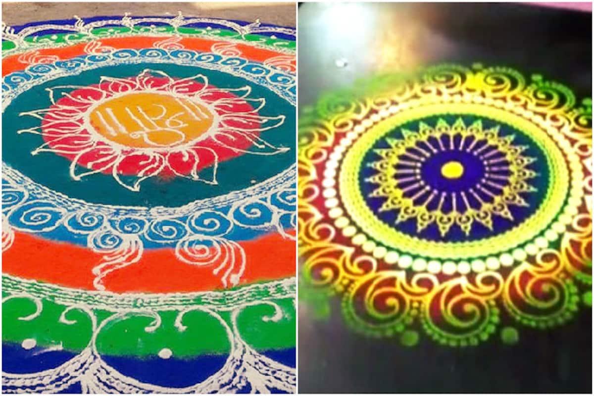 diwali rangoli designs how to make easy colourful diwali rangoli designs and patterns india com india com