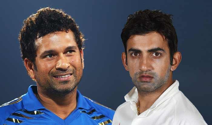 sachin tendulkar and Gautam Gambhirsachin tendulkar and Gautam Gambhir