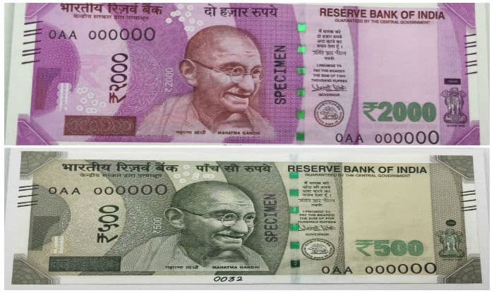 Here are Rs 2000 notes and new Rs 500 notes that will be issued by the government