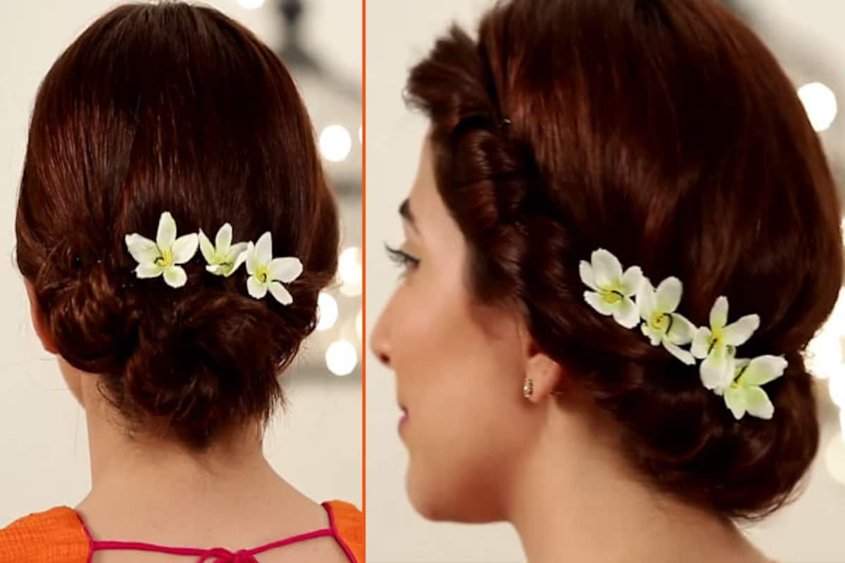 Flaunt these chic hairstyles for short hair this Wedding Season
