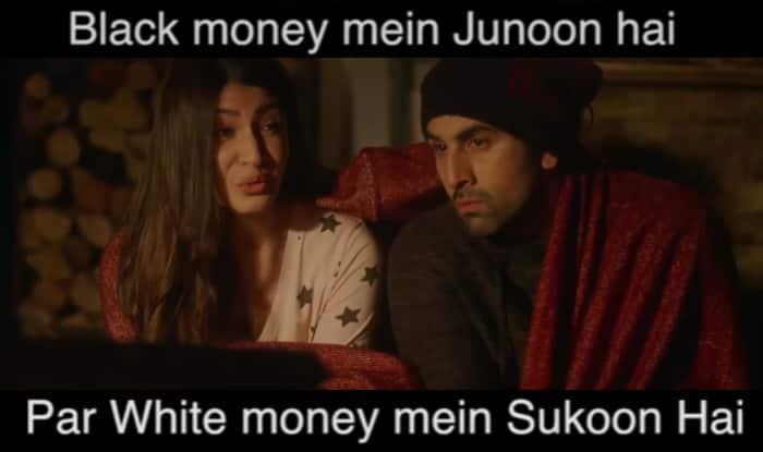 Aishwarya Rai Bachchan as new Rs 2000 note & Anushka Sharma as Rs 1000 note in this ADHM movie spoof summarizes Modi's demonetization effect!