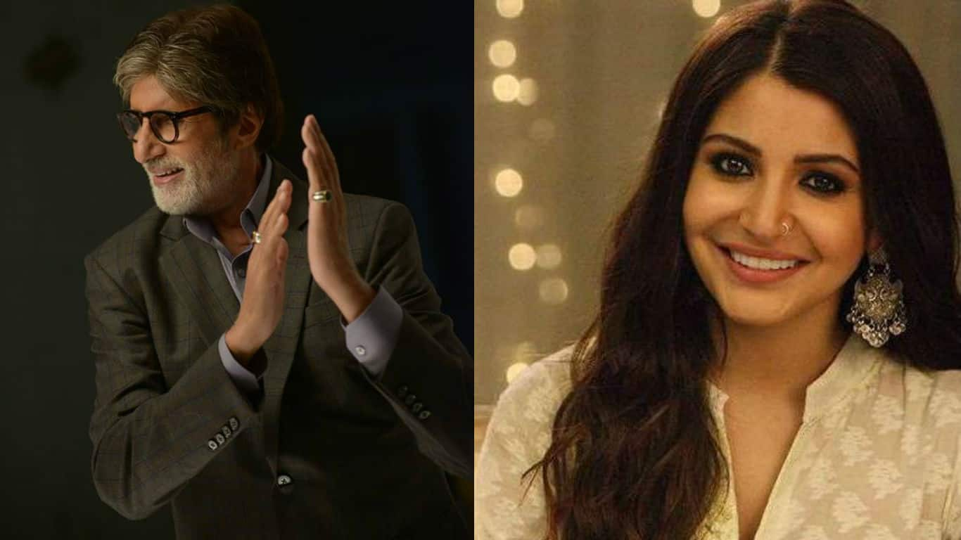 Amitabh Bachchan and Anushka Sharma