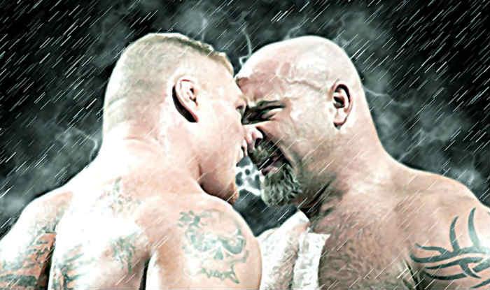Brock Lesnar Helped me Make WWE Comeback Says Goldberg