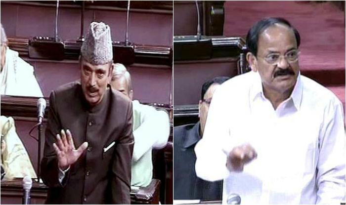 Ghulam Nabi Azad compares demonetisation with Uri attacks, furious BJP demands apology