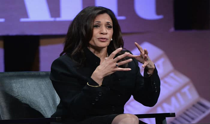 Kamala Harris says suspicious of Donald Trump's immigration policies