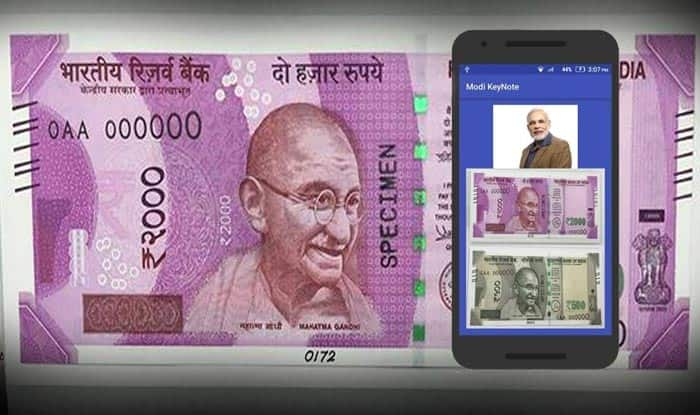 This app lets you scan Rs 2000 note and view PM Narendra