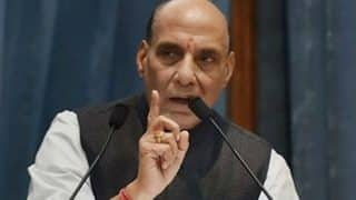 Security forces should be well equipped with power, water facility and better connectivity to fight Naxals, says Rajnath Singh after Sukma attack