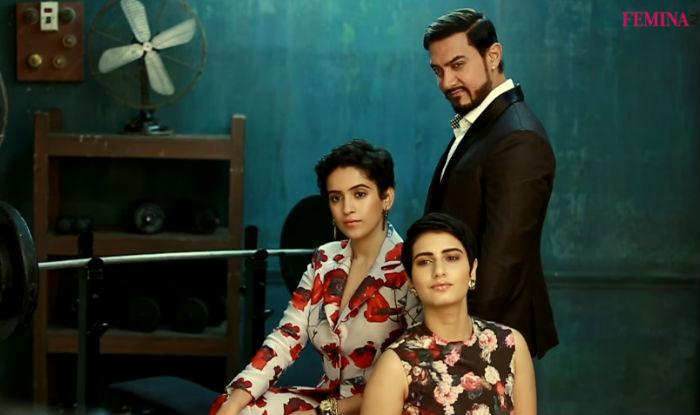 WOW! Dangal gang Aamir Khan, Fatima Sana Shaikh & Sanya Malhotra grace the cover of Femina's Anniversary issue