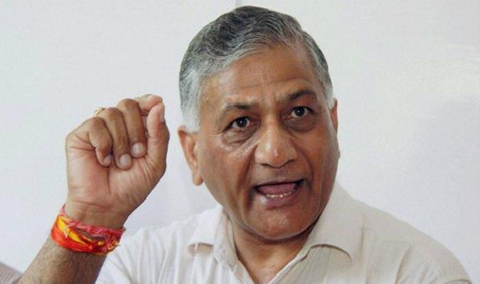 V K Singh Denies Calling Yogi Traitor For 'Modiji ki Sena' Comment