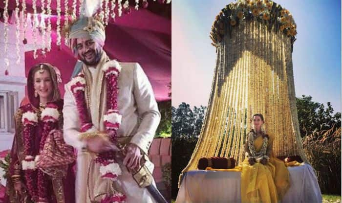 Arunoday Singh and Lee Elton wedding pictures: B'town hunk marries lady love in Bhopal