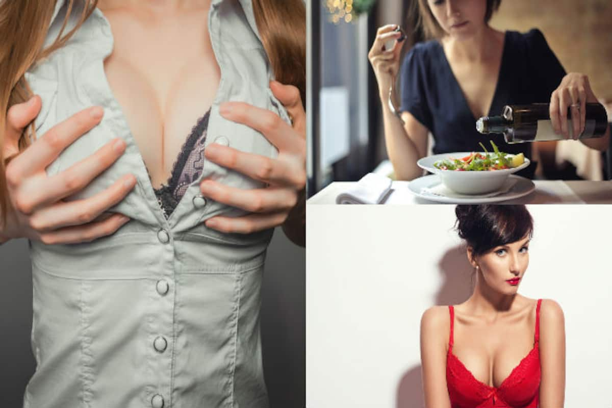 Women cleavage why do married show GirlDefined