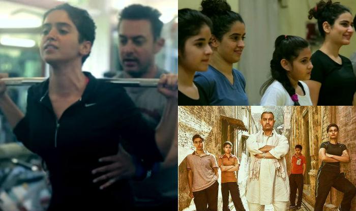 Dangal: Forget Aamir Khan's body transformation, this video of Fatima Sana Shaikh, Sanya Malhotra training will inspire you to hit the gym