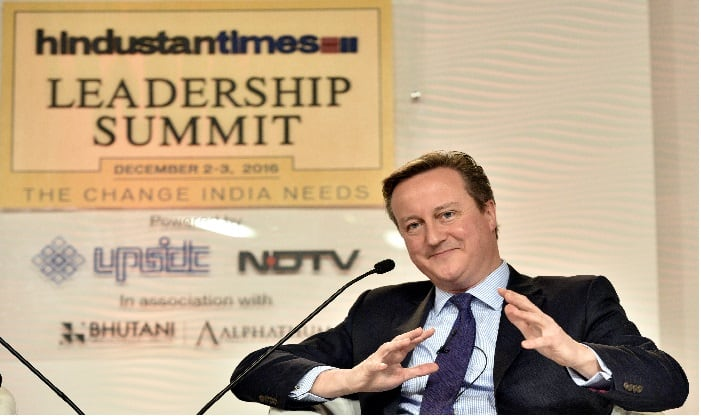 Former UK PM David Cameron validates Narendra Modi's stand on terror, says 'no good or bad terrorists'