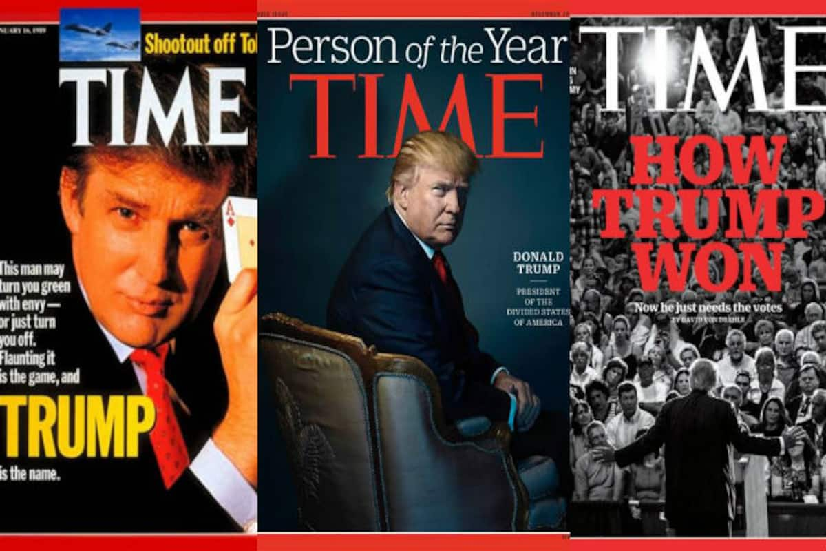 Donald Trump Birthday Move Over Fake Time Magazine Cover Here S A Look At 9 Times 71 Year Old Us President Graced In Real India Com