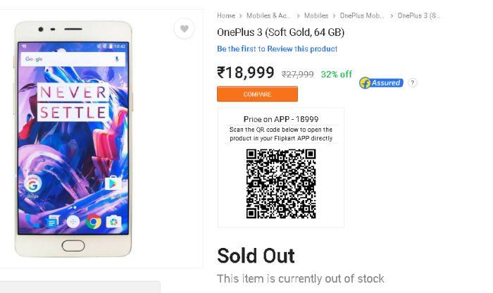 4 Things Flipkart's OnePlus 3 unauthorised sale makes us