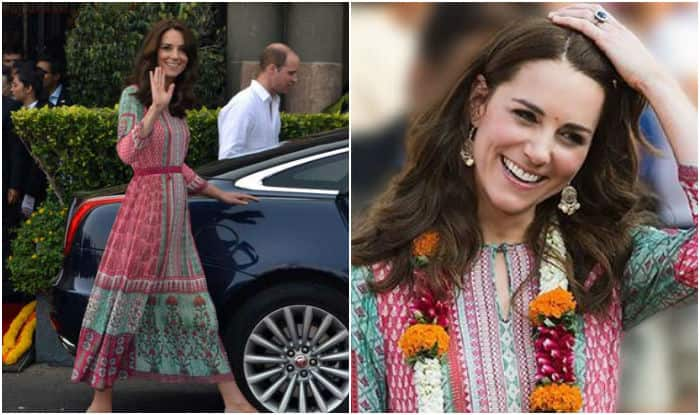 Kate Middleton's decision to wear Anita Dongre creation generated a