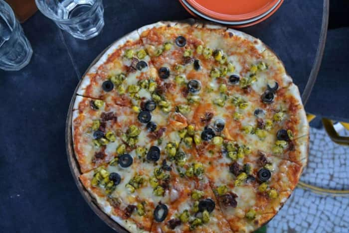 Fram Fresh pizza at JamJar. Credits: Zomato
