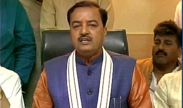 BJP's Uttar pradesh unit chief Keshav Prasad Maurya