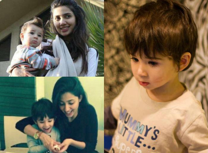 Mahira Khan Raees actress son