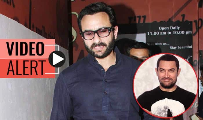Saif Ali Khan's Dangal review: Aamir Khan is phenomenal! This is one of the best films I've ever seen- Watch video