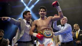 Vijender Singh Fight Highlights: Vijender Beats Ernest Amuzu to Register 10th Consecutive Win