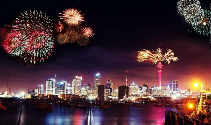 Happy New Year 2017 Live Updates New Zealand Embraces 2017 Countdown Begins In India Across The World India Com