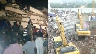 2 dead in Hyderabad building collapse, weak foundation suspected for accident   हैदराबाद में निर्माणाधीन 7 मंजिला इमारत गिरा: दो की मौत, मलबे में कई के फंसे होने की आशंका