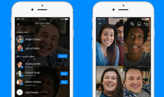 Facebook Messenger Group Video Chat introduced on Android