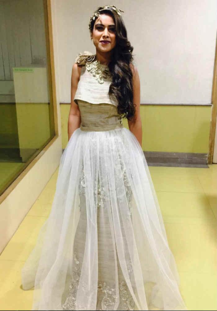 Nia Sharma wearing Archana Kochhar outfit