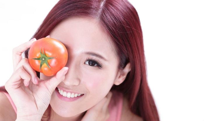 Cà chua giúp da trắng sáng