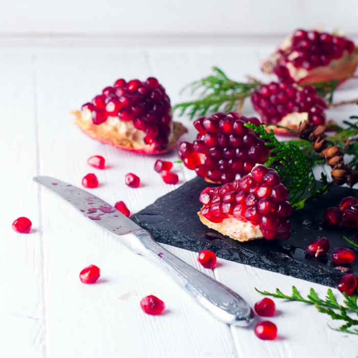 Use pomegranate seeds