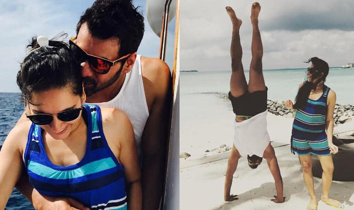 Kumkum Bhagya actor Shabbir Ahluwalia and wife Kanchi Kaul vacation pictures from Maldives show you true love exists!