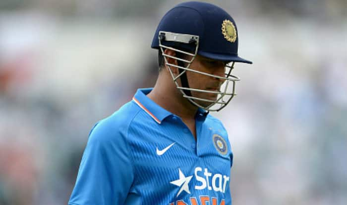 Watch: Crowd roars as MS Dhoni walks out to bat at Brabourne