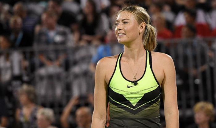 Maria Sharapova set for comeback at Stuttgart in April