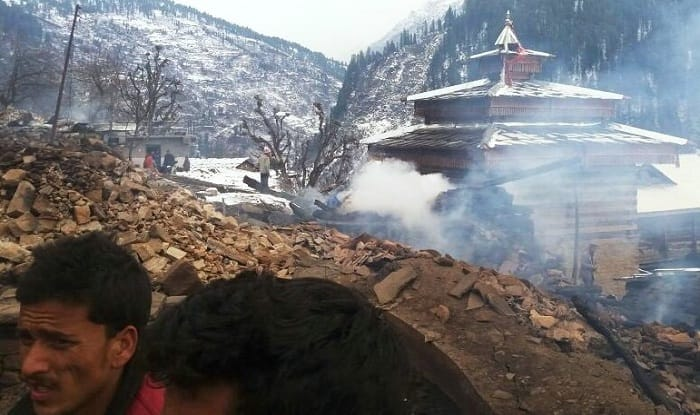 56 houses gutted in Tannu village fire
