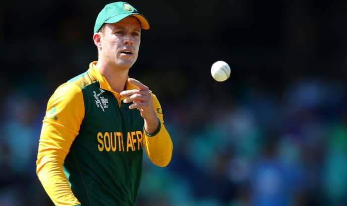 Is AB de Villiers planning to sign a Kolpak deal to secure his financial future?