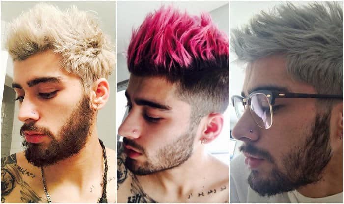 05cc8d2dc Happy Birthday Zayn Malik: 5 times Zayn surprised us with his quirky hair  transformation!