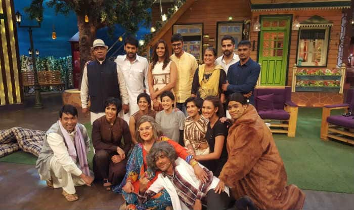 The Kapil Sharma Show: Comedy Dangal on the sets with the Phogat family!