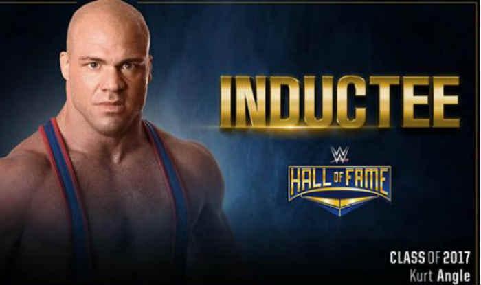 Kurt Angle to enter Hall of Fame ahead of WrestleMania