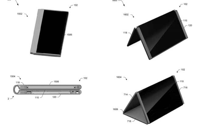 Microsoft takes on Samsung, files patent for foldable