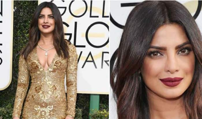 Golden Globes 2017: Priyanka Chopra is dazzling as the Golden Glamour Girl on the red carpet!
