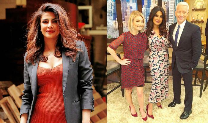 Priyanka Chopra promotes Quantico 2 on LIVE with Kelly! Borrows Beyonce's and Kardashian's glam squad!